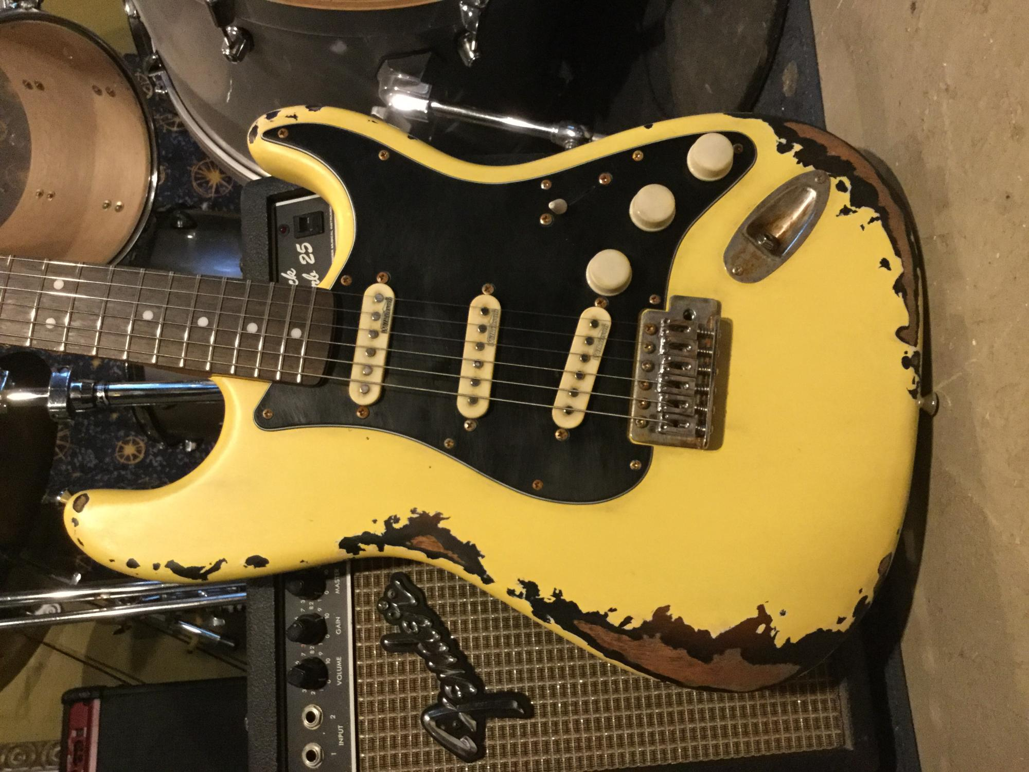 Relic Guitar Les Paul
