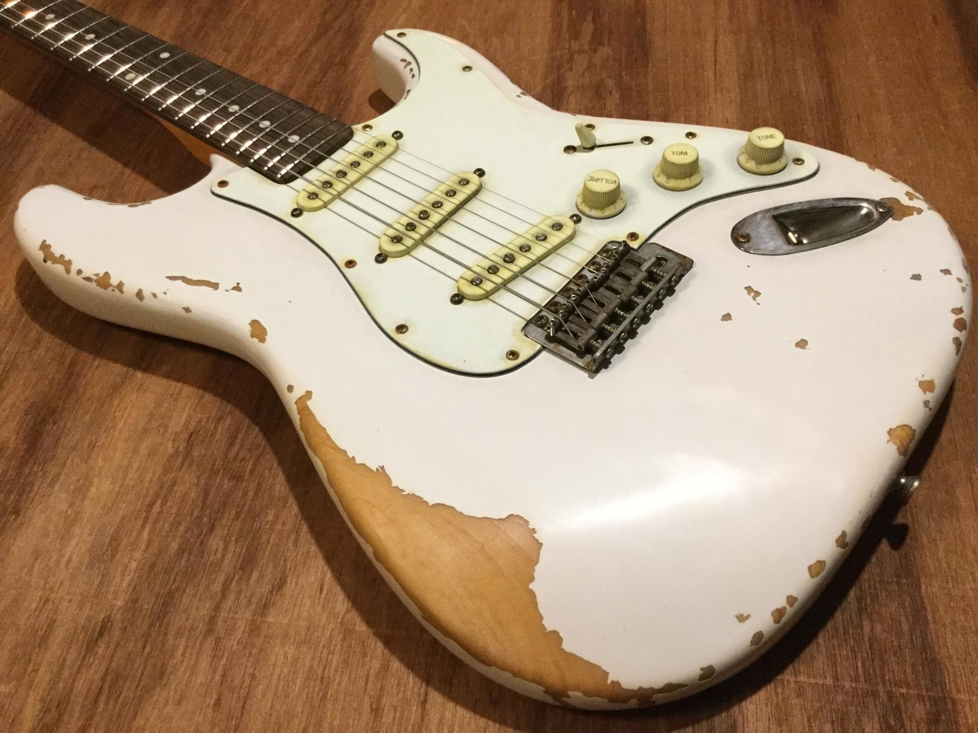 Watch How to Relic a Guitar video